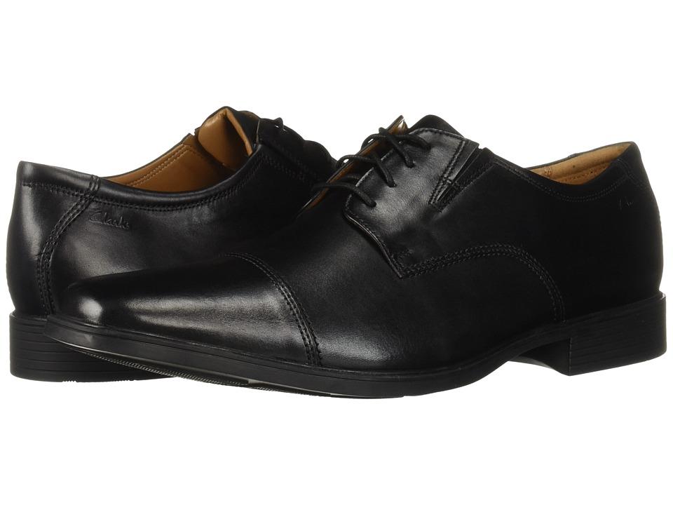 Clarks - Tilden Cap (Black) Men's Shoes