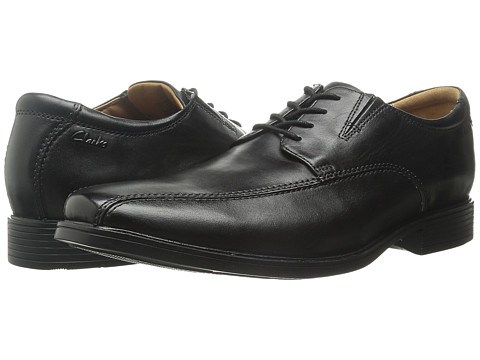 Clarks - Tilden Walk (Black) Men's Shoes
