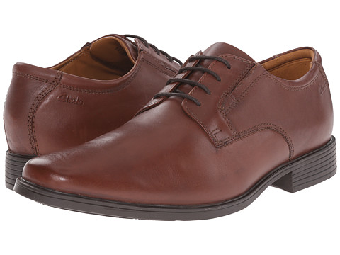 Clarks - Tilden Plain (Brown) Men's Shoes