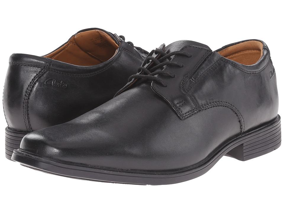 Clarks - Tilden Plain (Black) Men's Shoes