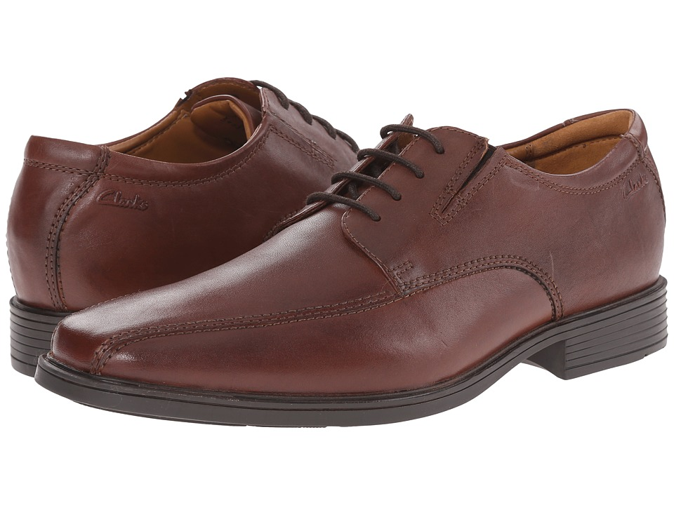 Clarks - Tilden Walk (Brown) Men's Shoes
