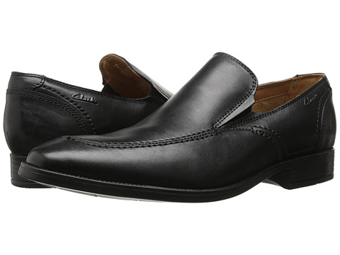 Clarks - Kalden Step (Black) Men's Shoes