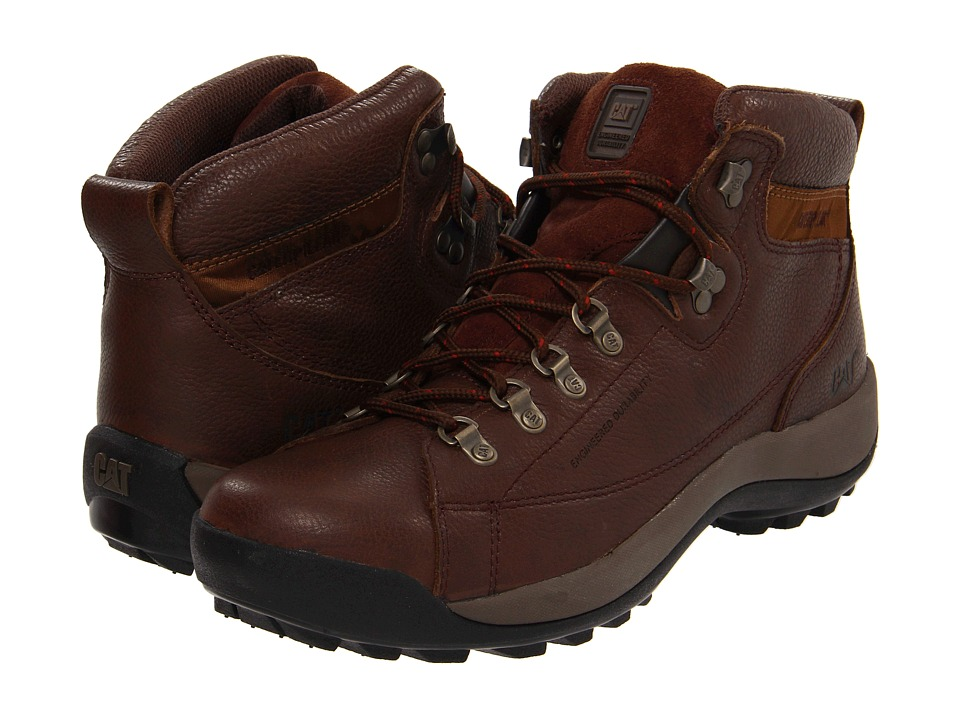 Caterpillar - Active Alaska (Chocolate) Men's Work Boots