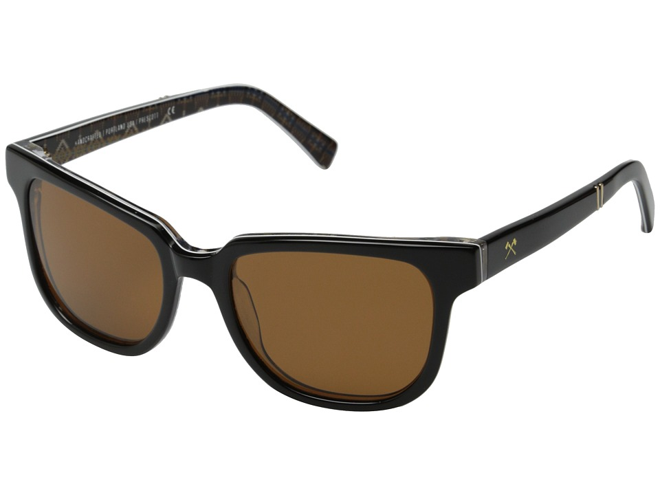Shwood - Prescott Pendleton Collection (Rancho Arroyo/Brown Polarized) Fashion Sunglasses