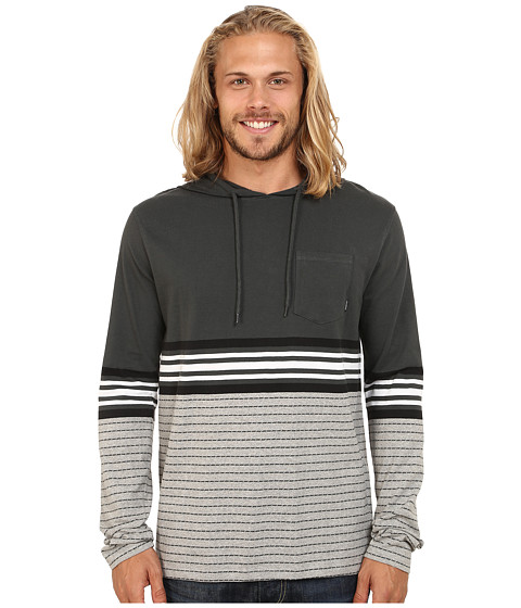 Billabong - Spinner Pullover Hoodie (Asphalt) Men