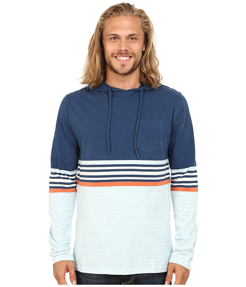 Billabong - Spinner Pullover Hoodie (Dark Blue) Men's Sweatshirt