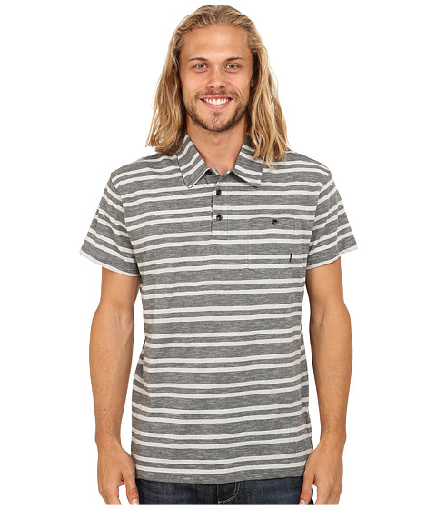 Billabong - Grant Polo Short Sleeve Pullover (Dark Grey) Men's Short Sleeve Pullover