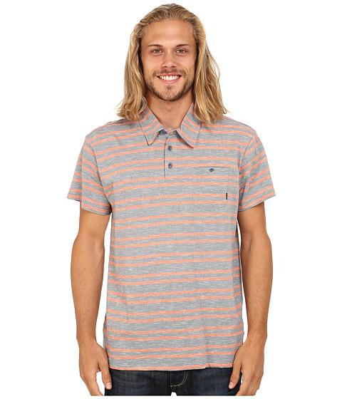 Billabong - Grant Polo Short Sleeve Pullover (Slate) Men
