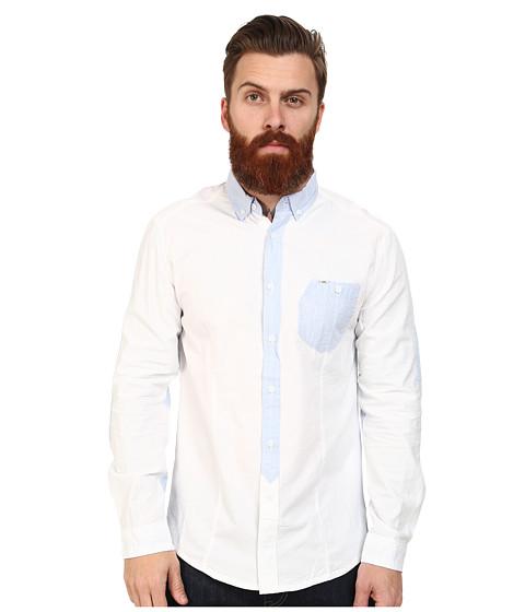 Mavi Jeans - Spring Shirt (White) Men's Clothing