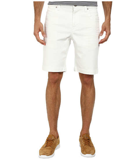Mavi Jeans - Five-Pocket Shorts (White) Men's Shorts