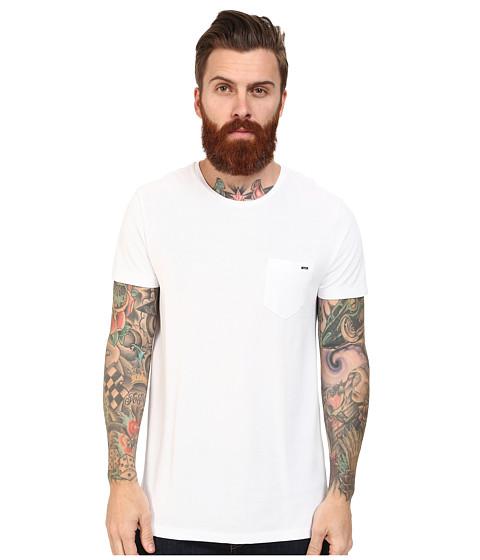 Mavi Jeans - T-Shirt (White) Men's Short Sleeve Pullover