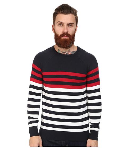 Mavi Jeans - Striped Sweater (Navy) Men