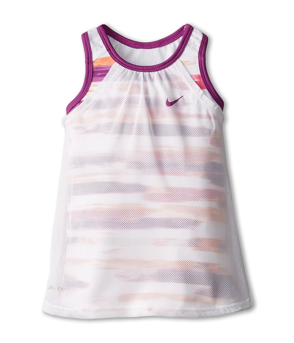 Nike Kids - Dri-Fit Sports Essentials 2-in-1 Sleeveless Top (Toddler) (Bold Berry) Girl's Sleeveless