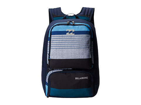 Billabong - Juggernaught Backpack (Blue) Backpack Bags