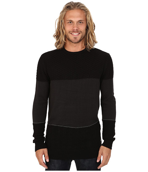 Billabong - Acoustic Sweater (Black Heather) Men's Sweater