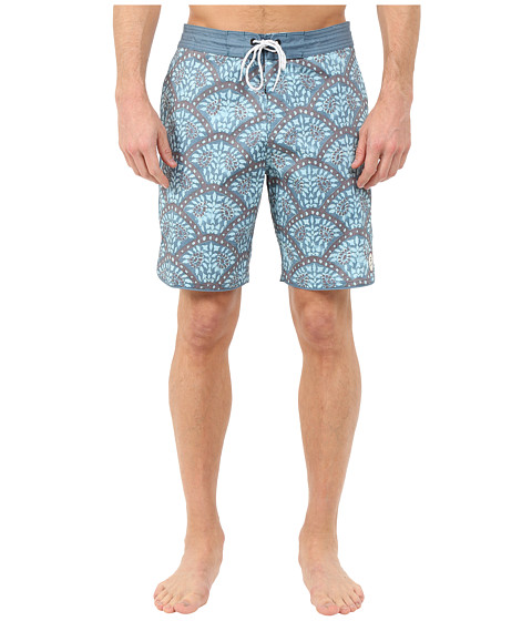 Billabong - Layback Pack Boardshorts (Blue) Men's Swimwear