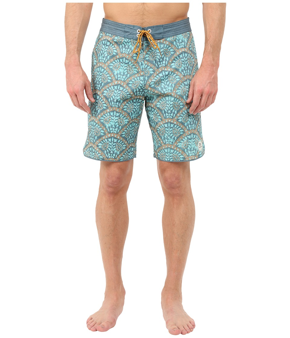 Billabong - Layback Pack Boardshorts (Seafoam) Men's Swimwear