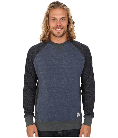 Billabong - Balance Crew Sweatshirt (Dark Blue Heather) Men
