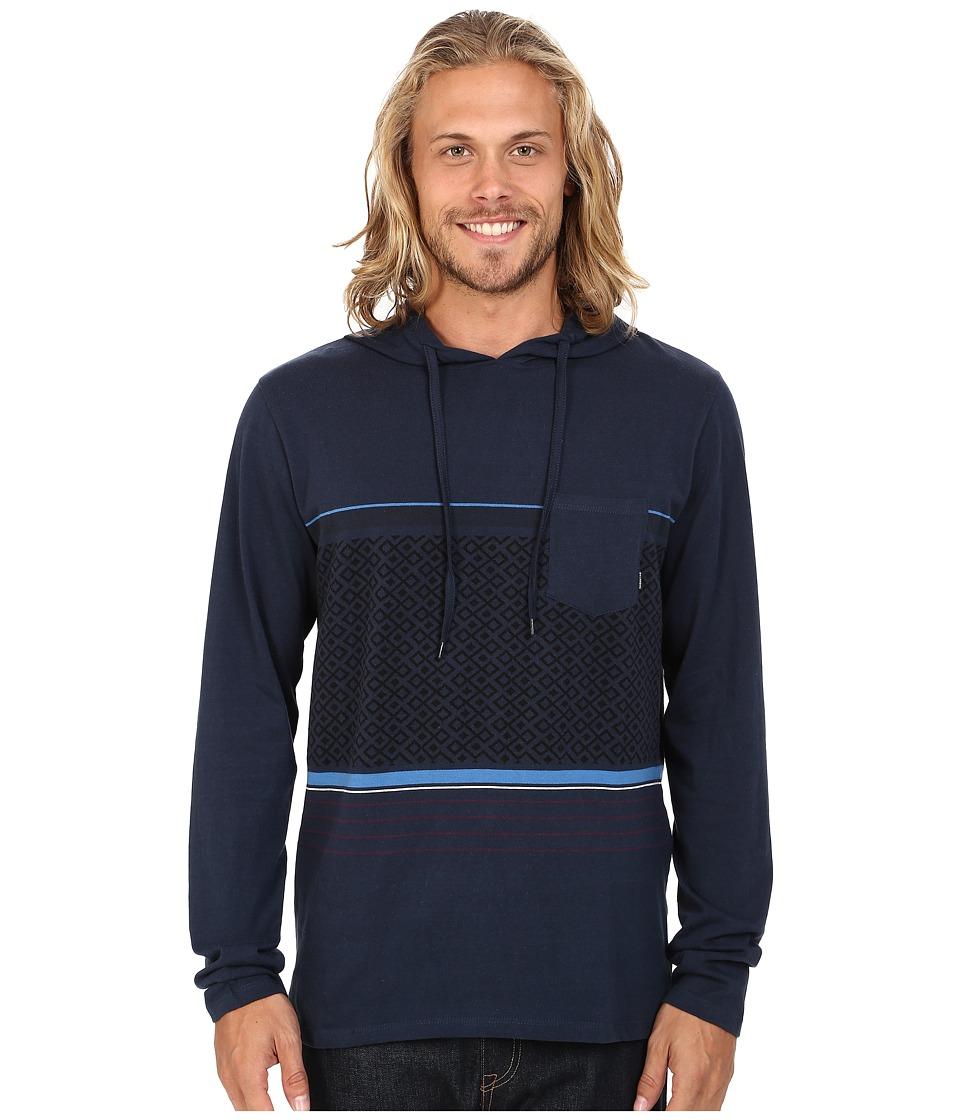Billabong - Spinner Pullover Hoodie (Indigo) Men