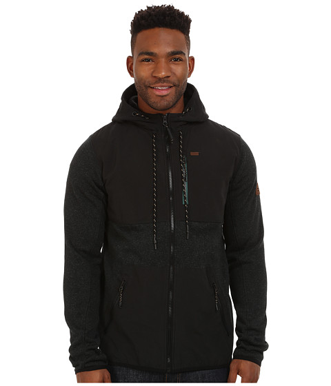 Billabong - Todos Zip Hoodie (Stealth) Men's Sweatshirt