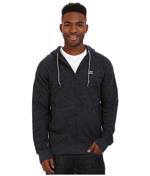 Billabong - Balance Zip Hoodie (Indigo Heather) Men's Sweatshirt