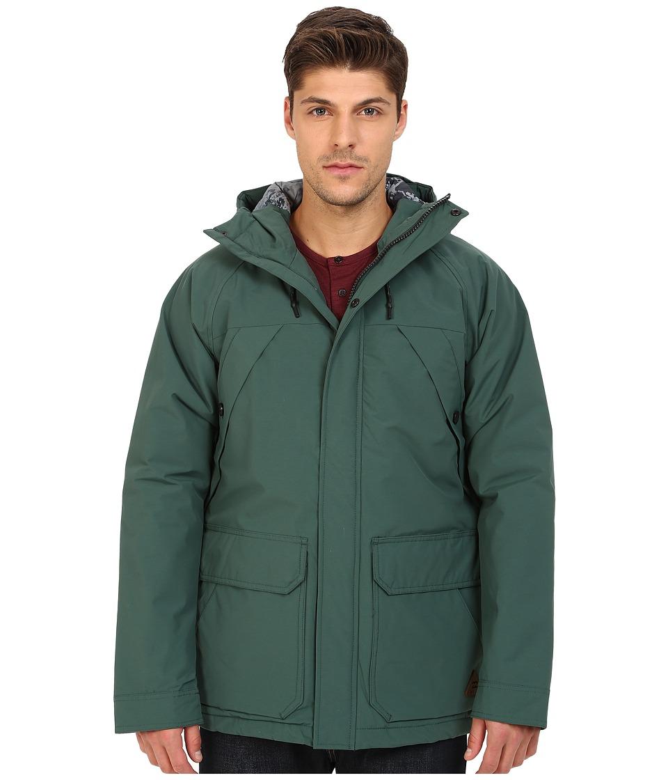 Billabong - Torfino Jacket (Evergreen) Men's Coat