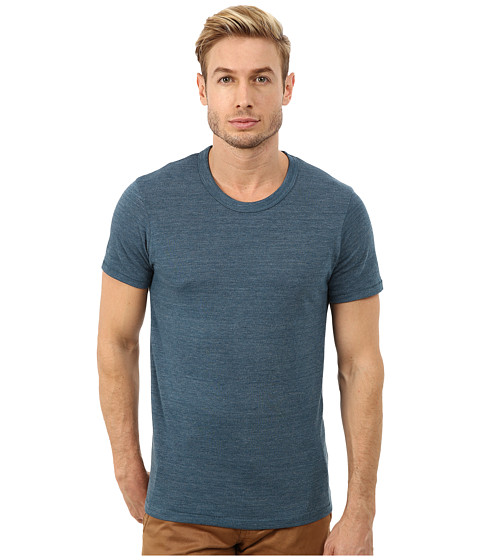 Alternative - S/S Crew Tee (Eco True Mineral Blue) Men's T Shirt