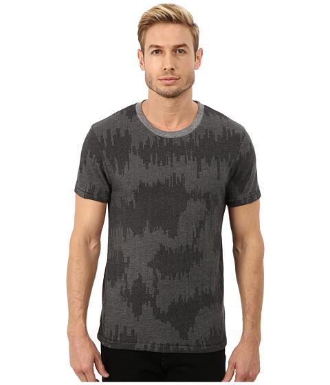 Alternative - Eco Crew (Eco Grey Patchwork) Men's Short Sleeve Pullover