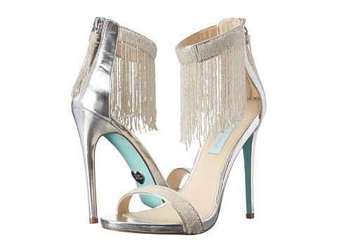 Blue by Betsey Johnson - Grand (Silver) High Heels
