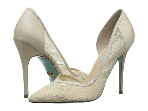 Blue by Betsey Johnson - Grace (Champagne Fabric) High Heels