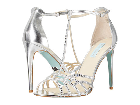 Blue by Betsey Johnson - Ruby (Silver) High Heels