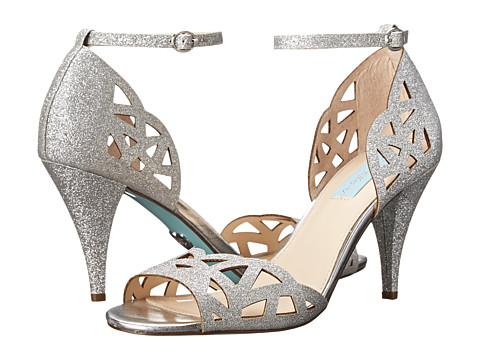 Blue by Betsey Johnson - Sofia (Silver Glitter) High Heels