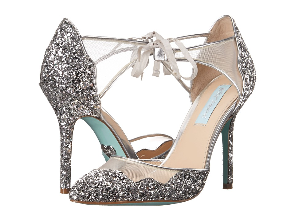 Blue by Betsey Johnson - Stela (Silver Glitter) High Heels
