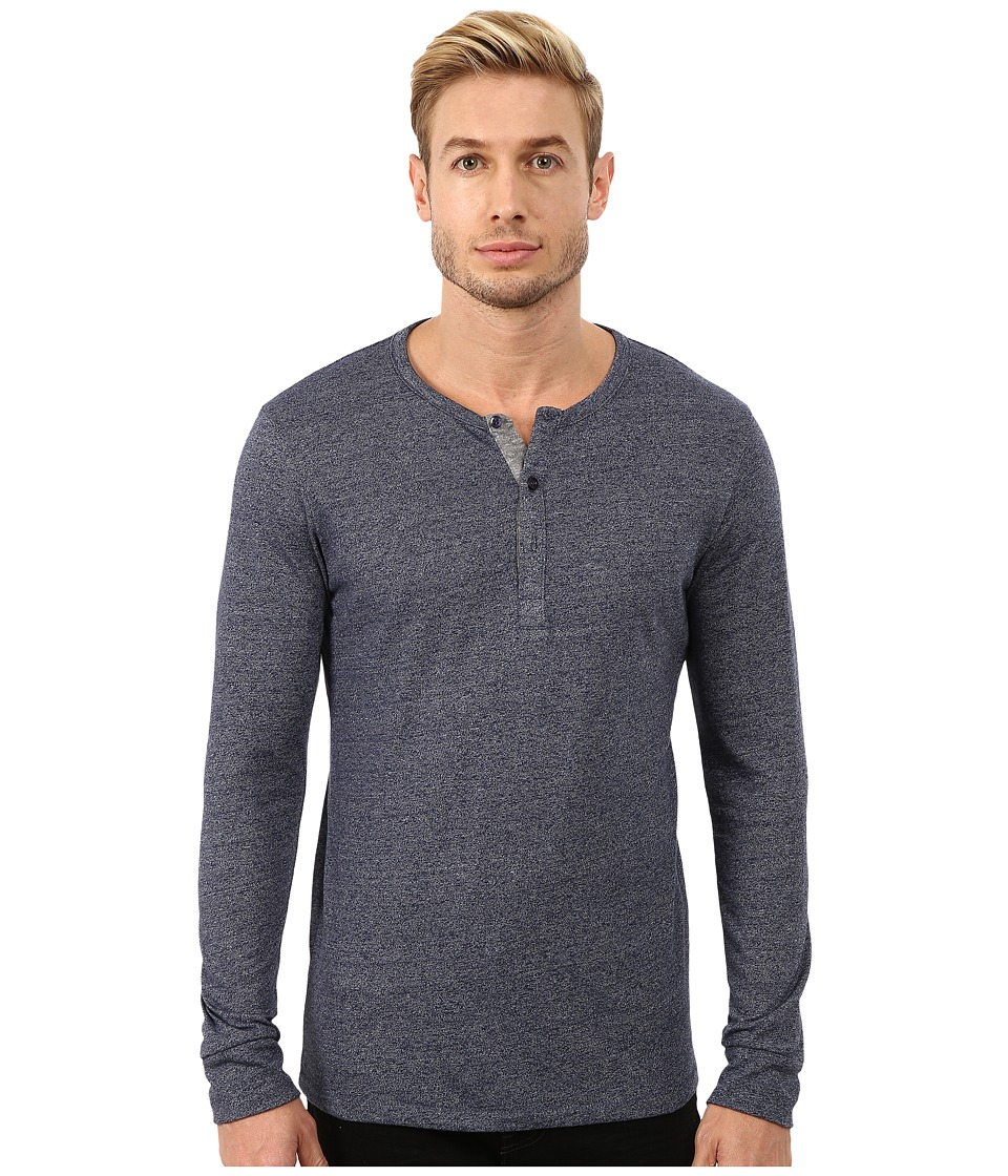 Alternative - Mock Twist Henley (Eco Mock Midnight) Men