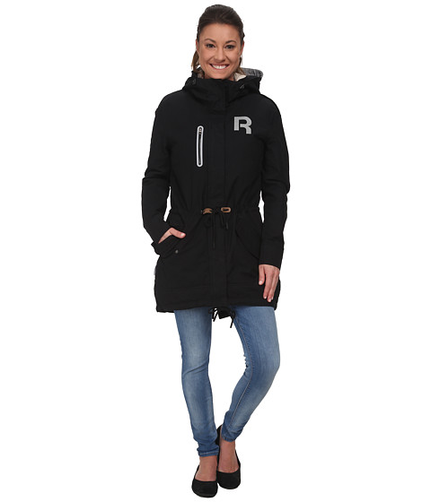 Reebok - Sherpa Parka (Black) Women's Coat