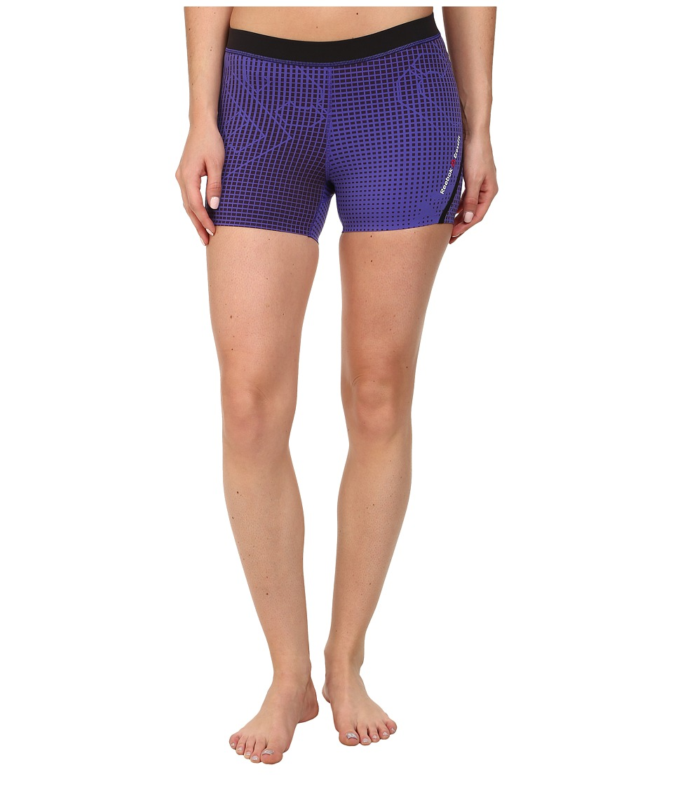 Reebok - CrossFit Bootie Short (Squire Purple) Women's Shorts