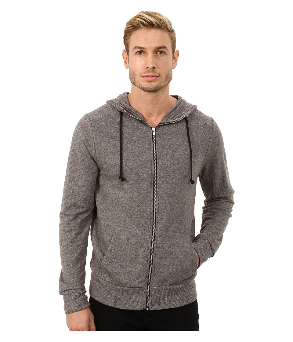 Alternative - Mock Rocky Hoodie (Eco Black) Men's Sweatshirt