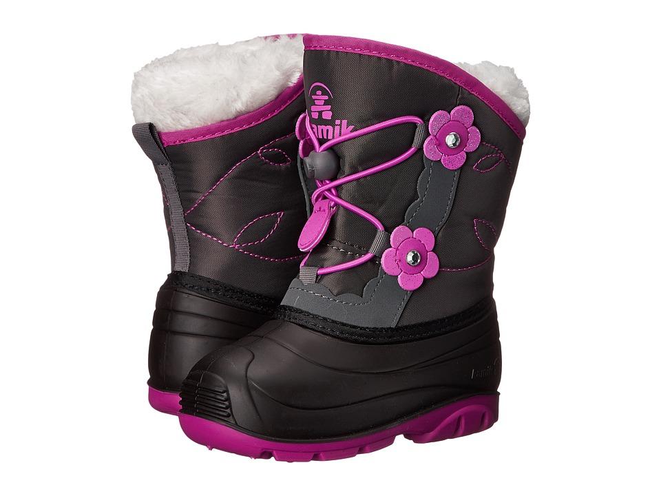Kamik Kids - Blossom (Toddler) (Charcoal 1) Girls Shoes