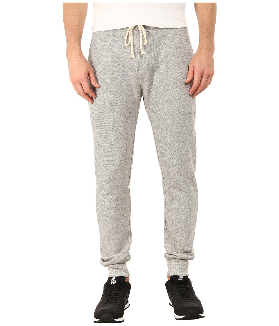 Alternative - Organic Light French Terry Slim Pants (Heather Grey) Men's Casual Pants