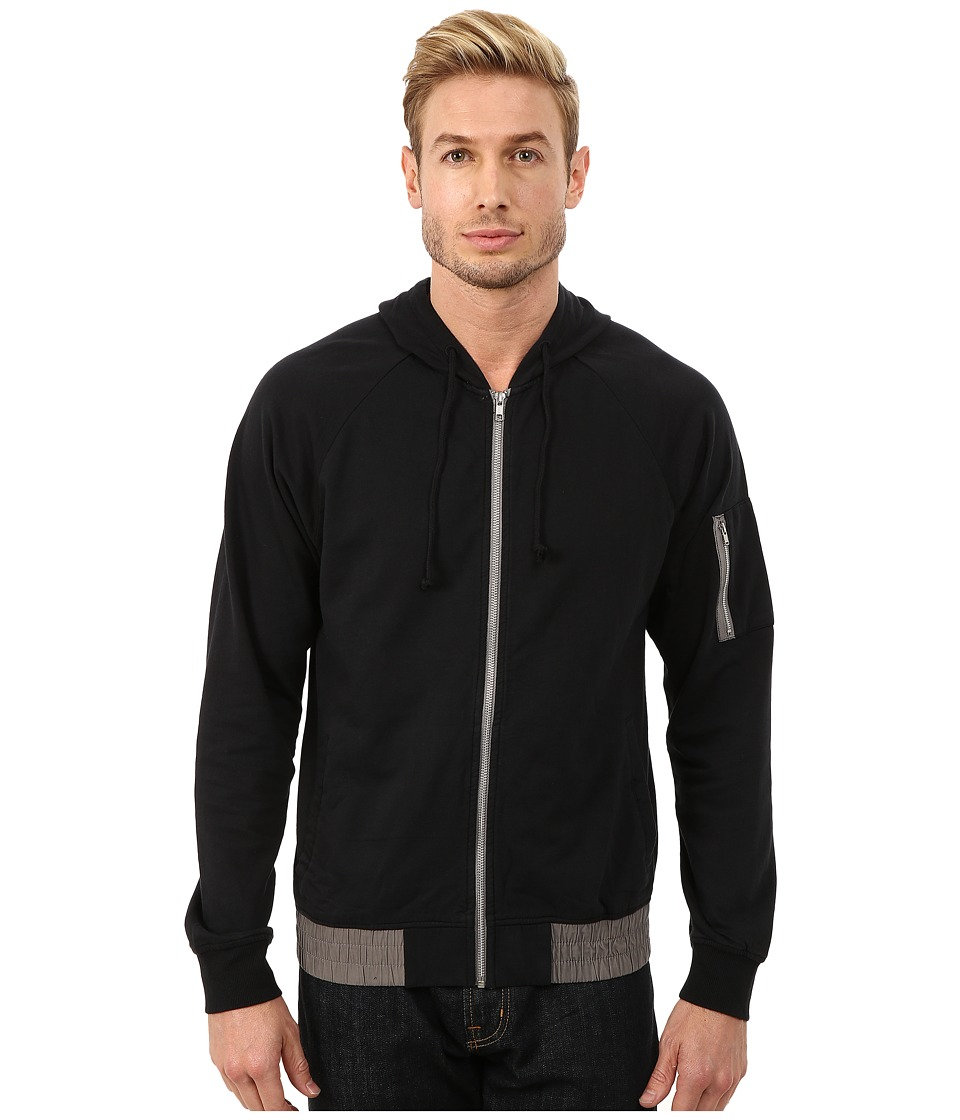 Alternative - Eco Micro Fleece Trooper Hoodie (Black) Men