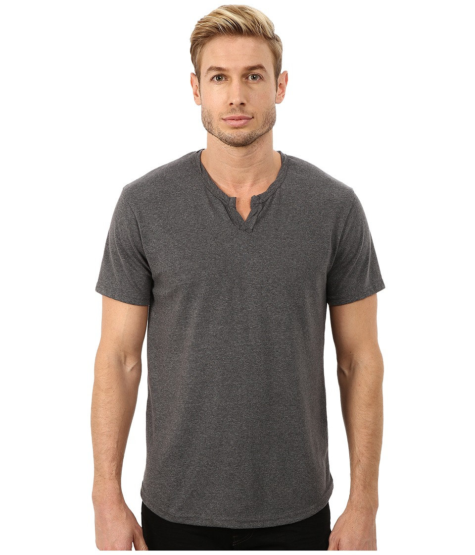 Alternative - Eco Mock Twist Jersey Pathway T-Shirt (Eco Mock Black) Men
