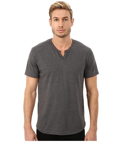 Alternative - Eco Mock Twist Jersey Pathway T-Shirt (Eco Mock Black) Men's T Shirt