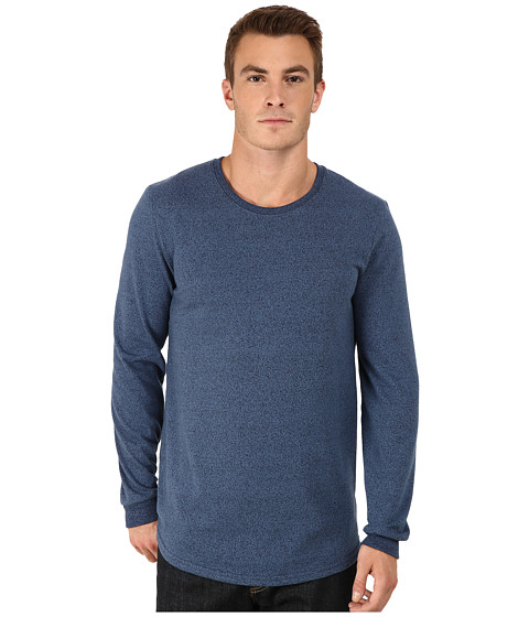 Alternative - Mock Twist Jersey Warm Up Long Sleeve (Eco Mock Midnight) Men's Long Sleeve Pullover