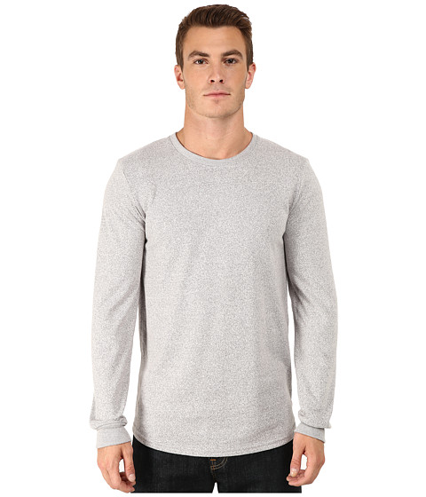 Alternative - Mock Twist Jersey Warm Up Long Sleeve (Eco Mock Nickel) Men