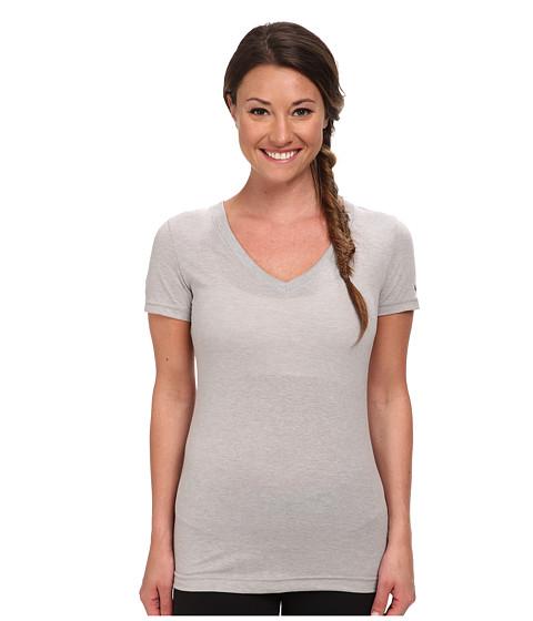 Reebok - CrossFit Tri-Blend Tee (Medium Heather Grey) Women's Clothing