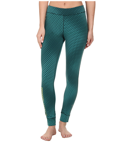 Reebok - ONE Series Legging (Teal) Women's Casual Pants