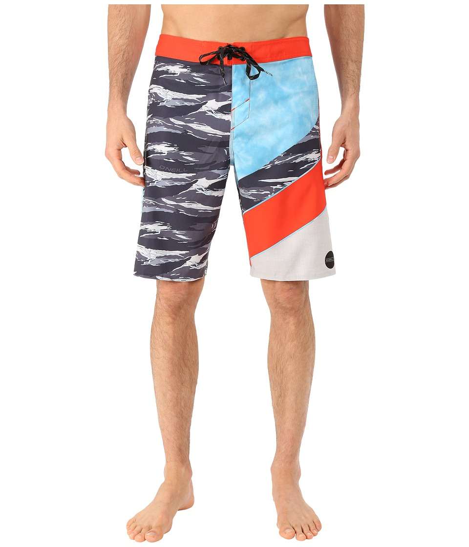 O'Neill - Jordy Freakout Boardshorts (Neon Red) Men's Swimwear