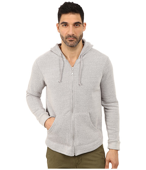 Alternative - Eco Mock Twist Fleece Roamer Hoodie (Eco Mock Nickel) Men's Sweatshirt