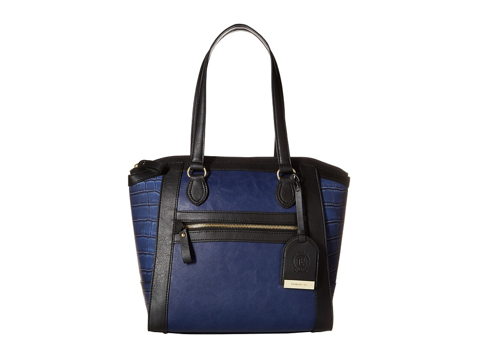 London Fog - Fielding Tote (Navy) Tote Handbags