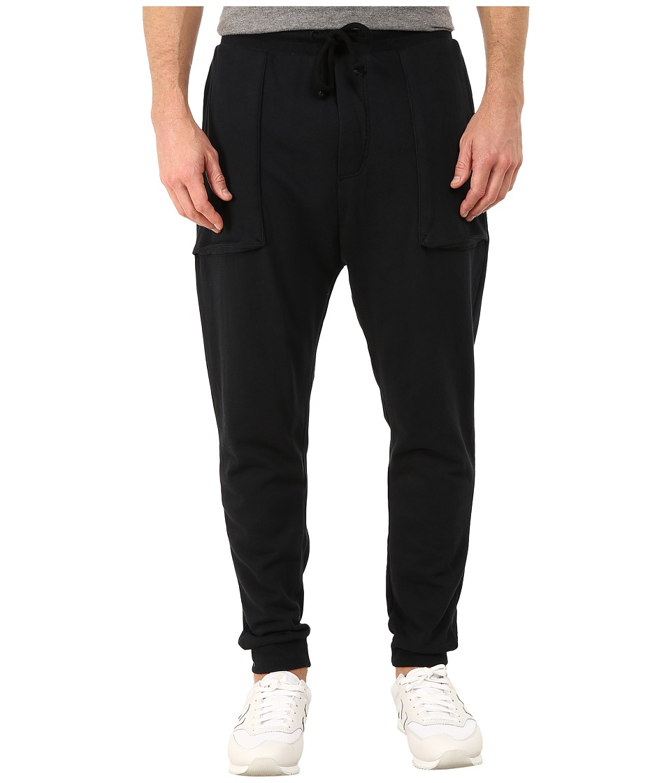 Alternative - Light French Terry Dweller Pants (Black) Men's Casual Pants